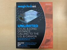 MAGICJACKGO UNLIMITED LOCAL& LONG DISTANCE CALLING NEW SEALED