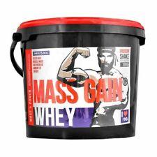 WHEY MASS GAIN 3kg Gainer Protein Eiweißpulver Aminosäuren Glutamin Muskelmasse