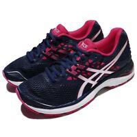 Asics Gel-Pulse 9 Blue Silver Bright Rose Women Running Athletic Shoe T7D8N-4993