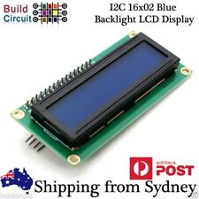 IIC / I2C LCD 16x02 Blue Backlight LCD Display Module For Arduino + AU Stock