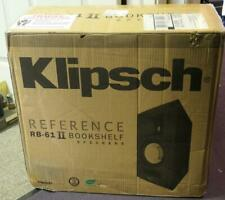 Klipsch RB-61 II Bookshelf Speakers (Pair) BLACK