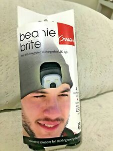 CREATIVE Beanie Brite - LED Light Up Hat - USB Chargeable by Creative Products