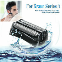 Replacement Shaver Foil Head for Braun 32B 32S 21B Series 3 310S 320S 340S 3000S