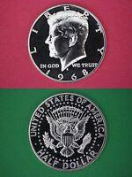40% SILVER 1968 S Proof John Kennedy Half Dollar Mirror Like Combined Shipping