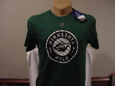 SWEET Minnesota Wild Adult Lg Jason Pominville Green Reebok Jersey T-Shirt, NEW!