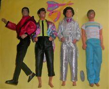 VTG Superstar Era Jewel Secrets Ken Barbie Rocker Derek Michael Jackson Doll Lot