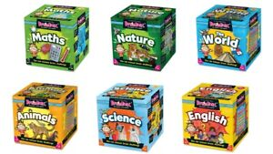 Brainbox Educational Memory Card Games - Brain Box Quiz Trivia Family Game
