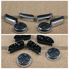 Seat Adjustment Switch Control Button Cover Trim Decor for Audi 2003-08 A4 B6 B7