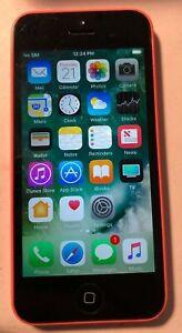 Apple iPhone 5c 16GB Orange (ATT) A1456 Fast Ship Very Good Used READ DESC