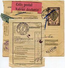 Rumanía Paquete recibo Tarjeta De 1910 A Austria... Franco En Caja... Rumania