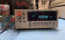 Tektronix DMM4020 5.5 Digit Multimeter Used Tested Ships Free