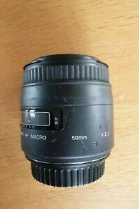 Sigma AF 50mm f/2.8 macro (Canon EF)