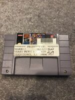 Super Slam Dunk (Super Nintendo Entertainment System, 1993) Working Game Only