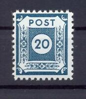 SBZ 48 DI c 20 Pfg. Postmeistertrennung Coswig postfrisch gepr. Ströh (xs61)