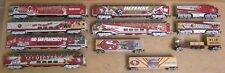 Bachmann Hawthorne Village San Francisco 49ers COMPLETE TRAIN 11-PC SET HO-Scale