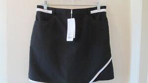 "NWT NIVO ""Wynonna"" Women's Black Golf Casual Skirt Skort 2"