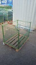 10 Gitteraufsatzrahmen für Europalette bitte lesen Brennholz Box GiBO Gitterbox