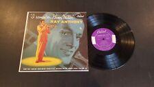 """Ray Anthony 10"""" LP I Remember Glenn Miller Capitol 476"""