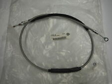 HARLEY DAVIDSON BRAIDED  STAINLESS STEEL  CLUTCH CABLE