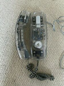 Maybell Clear Transparent Retro 80's Phone WORKING