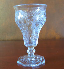 """McKee Rock Crystal Clear 5 5/8"""" Low Water Goblet(s)"""