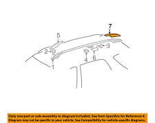 MERCEDES OEM 98-03 ML320 Roof Rack Rail Luggage Carrier-Cover Left 1638490503