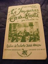 Partitura La Junquera De Paso On ir a La Musette Java Jose Ariza