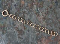 "Necklace Extender - 14kt Rose Gold Filled Chain Extension - 2"", 3"" or 4"" - NEW"