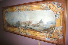 Overdoor Revestimiento Mural Pintura De Madera Barroca Imagen Tilman Hoche