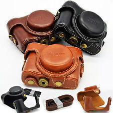 NEW Retro Vintage PU Leather Camera Case Cover for Sony Cyber-shot DSC-HX50 Bag