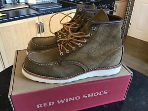 Red Wing Classic Moc Toe 8881 Mens Boots UK8