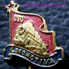 BG5301 - INSIGNE CLUB FOOTBALL - DSO LOKOMOTIVA DE KOSICE 1952
