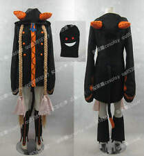 Blazblue Taokaka Black & Orange Halloween Suit Set Cosplay Costume J001