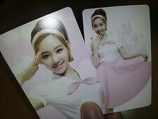 SNSD Girl's Generation GG plastic PHOTO CARD #3, Total 9 Sheet - mr sticker