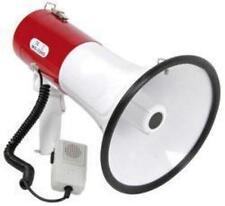 Megafono Adastra 952.019 30w con Potente Sirena a Batteria 600m di Raggio Bianco