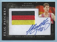 SHAWN BRADLEY 2011 ELITE BLACK BOX FLAG PATCHES AUTOGRAPH AUTO /149