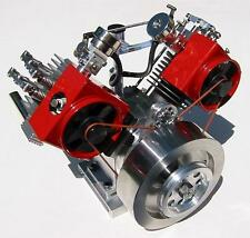 Howell V-Twin 4-Cycle Gas Model Engine Plans