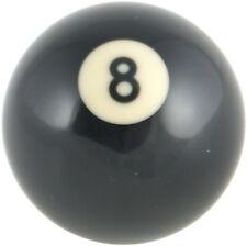 Pool Ball Gear Knob - Black No. 8 Ball - Custom Made