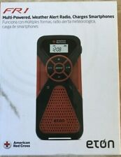 Eton FR1 Weather Radio Crank Phone Charger American Red Cross New