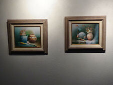 Two oil paintings by Charles Redmond Benolt