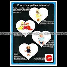 VALERIE SWINGY BABY DEANS Mattel Poupée Doll Bambola 1971 : Pub Advert Ad #A1384