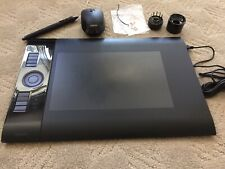 Wacom Intuos4 Medium TABLET PTK-640 Wireless Pen and Mouse USB stand nibs