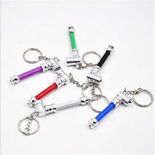Fashion MINI Key Ring Keychain Metal Pipe Smoking Pipe Magic Random Color