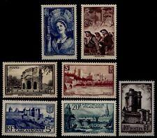 Série TOURISTIQUE / St Malo, Neufs * = Cote 72 €  / Timbres France 388 à 394