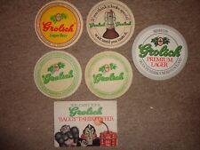 Beer drinks mats drip mats coaster GROLSCH HOLLAND job lot