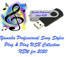 Tyros 4 Professional Song Styles USB Plug & play New!!!