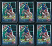 2015 Topps Series 1 Javier Baez RC 6 Card Lot Rookie #315 Chicago Cubs