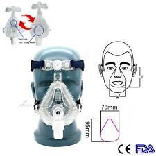 Full Face Mask BiPAP Mask Sleep Apnea Mask Adjustable Headgear C PAP Supplies