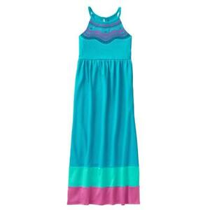 NWT Gymboree Sunny Adventures Embroidered Maxi Dress Girls S,M,XL