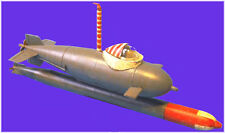 U-Models 1/35 German Midget-Submarine - Delphin